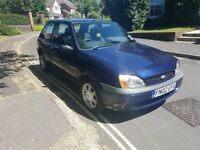 2002 FORD FIESTA FLIGHT 1.8 DIESEL 3 DOOR HATCHBACK BLUE MANUAL MOT MARCH 2019 GOOD RUNNER