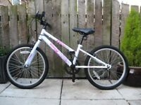 Girls Apollo Envy Bike 20 inch wheels Single Speed Mountain Bike