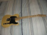 American USA Fender Telecaster Tele Vintage 52' in Butterscotch Blonde