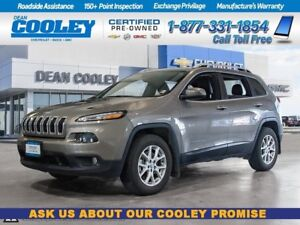 2016 Jeep Cherokee North Edition/Htd Leather Seats/Htd Steering