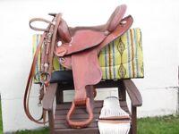 "western trekkers barrel saddle flexi-tree 16""seat"