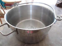 STAINLESS STEEL PRESERVING PAN