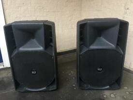SOLD - RCF 715a - Pair (need new amps)