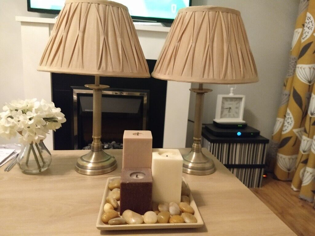Picture of: Dunelm Lamps And Candle Set In Londonderry County Londonderry Gumtree