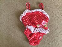 Swimming nappy costume - small (3-6 months) - £3