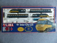 Hornby Flying Scotsman and Lima Inter City 125 train sets