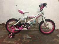 "Dream 14"" Inch 3-5 Years Kids Bike Girls Boys Perfect For Christmas"