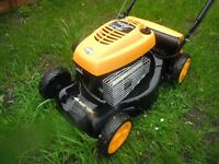lawnmower mcculloch b&s engine 450 series £100