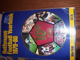 ROTHMANS FOOTBALL YEAR BOOKS 1979/80 1980/81 1981/82 a great reference for past seasons statistics