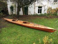 Large Double Sea Kayak - Free to good home
