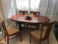 Table and chairs FREE TO A GOOD HOME