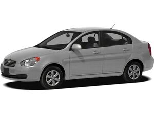 2010 Hyundai Accent GL ONE OWNER, ACCIDENT FREE & LOW KILOMETRES