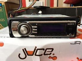Sony Xplod 100dB car stereo