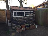 Free garden shed 8ft x 6ft SOLD