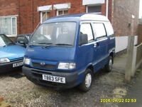 Daihatsu Hijet 1.3 EFI 1999 TREG 6 Seater People Carrier MPV (Ideal for minicampervan project)