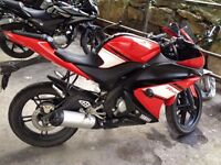 Yamaha Yzf R125 in very good condition. Passed the MOT in August. £1900
