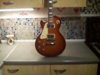 Left handed les paul guitar £100 cash