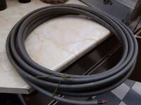 ELECTRICITY CABLE, 10mm. 9 meters long