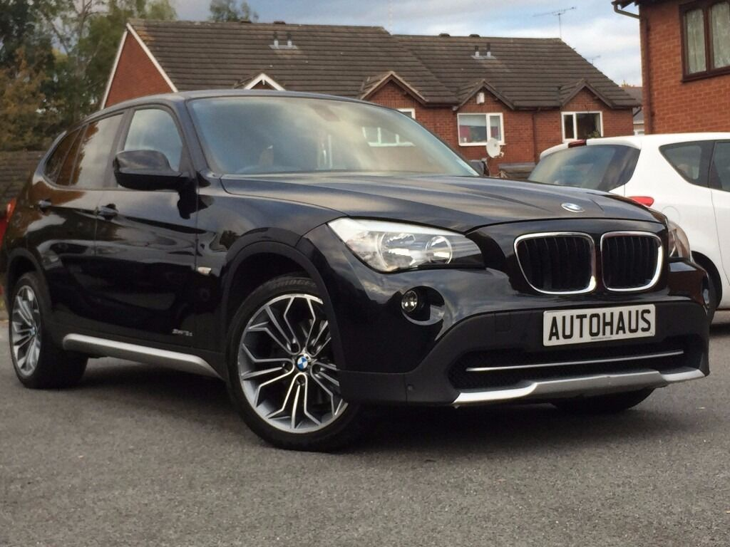 2010 BMW X1 2.0 18d SE sDrive 5dr FULL SERVICE HISTORY + 1 OWNER + LEATHER not audi q3 volvo xc60