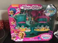 TEENIE GENIES DELUXE CARRYCASE SHIMMER AND SHINE