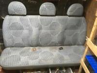 Transit bench seat camper/conversion