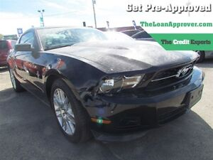 2012 Ford Mustang V6 Premium * LEATHER * HEATED POWER SEATS London Ontario image 1