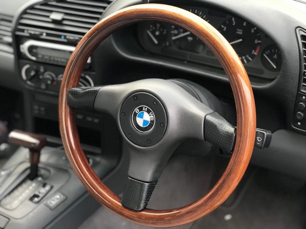 Bmw Wooden Nardi Steering Wheel E36 E30 E46 Classic Rare