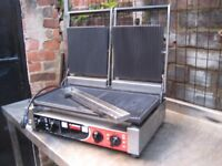 SIRMAN 'PD' Double Ribbed Contact Grill Catering (panini grill).