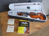 Violin for learners, mint condition