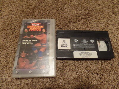 Halloween Havoc Wrestling (HALLOWEEN HAVOC 1997 wcw vhs wrestling SHIP)