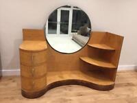 Rare Art Deco Mirror Dressing Table