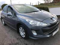 PEUGEOT 308 AUTOMATIC 2011 ***12 MONTHS MOT ***ONLY 56000 MILES***