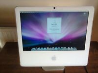 """IMAC 17"""" SCREEN ALL IN ONE COMPUTER"""