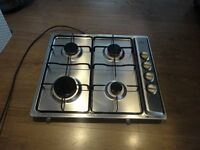 Belling Stainless Steel 4 Ring Gas Hob