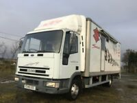 Iveco 75 e15 race lorry years mot 7.5 tonne