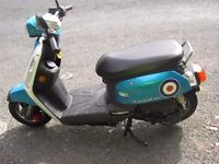 For sale sym scooter long mot low milage 2 owners from new