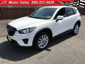 2013 Mazda CX-5 Grand Touring, Nav, Leather, Sunroof, AWD, 64,00