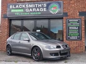 Seat Leon 1.8 20v Cupra R 5dr£4,295 p/x welcome FULL HISTORY AMAZING CONDITION