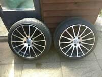 "Wolfrace Gran Turismo 18"" Alloy Wheels"