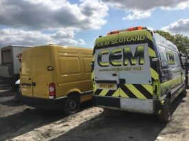 Renault master Vauxhall movano Breaking spare parts availble