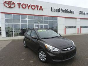 2015 Hyundai Accent Very LOW KM.  Save $2000!