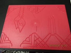 Ultimate A4 Embossing Board and 19 page Project Book