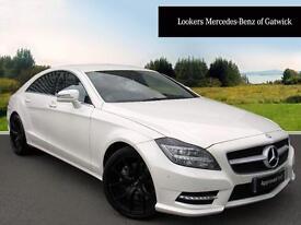Mercedes-Benz CLS CLS350 BLUEEFFICIENCY AMG SPORT (white) 2013-09-30