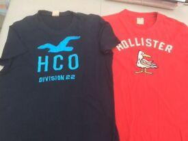 2 x Hollister T-Shirts