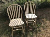 4 dining chairs for upcycling