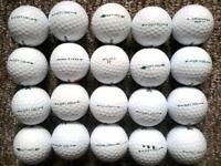 20 Srixon soft feel golf balls in great condition