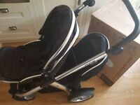 Oyster Double Pushchair