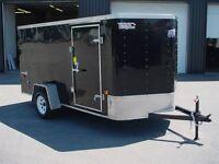 2007 Ideal Cargo CARGO 6' X 13' V-NOSE 1 ESSIEUX CONTRACTEUR UTI