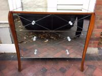 Laura Ashley Charlston Mirrored 3 Drawer Chest - USED