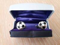 BRAND NEW football cufflinks